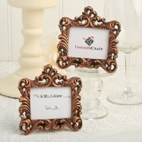 Vintage Baroque Style Place Card Holder / Photo Frame